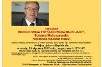 Kolejny dyżur Rzecznika Instruktorów i Wykładowców: 25.1.2017