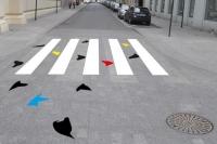 Przejścia dla pieszych jak dzieła sztuki