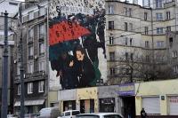 Najnowszy mural, ten z okazji tzw. czarnego marszu