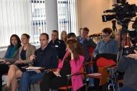 Konferencja odbyła się w siedzibie Centrum Automatycznego Nadzoru Nad Ruchem Drogowym