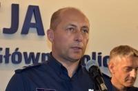 Mł. insp. Zdzisław Sudoł, dyrektor Biura Ruchu Drogowego KGP