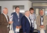 (od lewej) Stanisław Fluder, Dawid Kopacz, Marek Górny, Michał Trzaska, Ryszard Mazurek