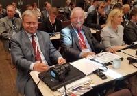 Witold Wiśniewski, koordynator PKE, Andrzej Grzegorczyk, wiceprezes Fundacji Zapobieganie Wyp. Drog.