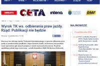 """Dziennik """"Rzeczpospolita"""" dn. 12.10.2016 r."""