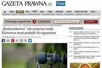 """""""Gazeta Prawna"""" 30.1.2017 r."""