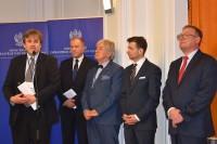 Członkowie Rady Ekspertów powołanej w Ministerstwie Infrastruktury i Budownictwa, Warszawa, 2.2.2017