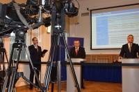 """Konferencja prasowa """"NOWE STANDARDY W BUDOWNICTWIE DROGOWYM"""" ( 2.2.2017)"""