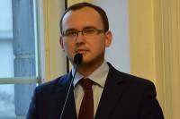 Szymon Huptyś, rzecznik prasowy Ministerstwa Infrastruktury i Budownictwa (Fot. J. Michasiewicz)