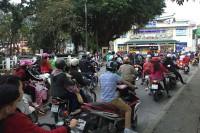 Często na jednym motocyklu jadą całe rodziny