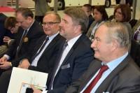 Andrzej Grzegorczyk, wiceprezes PBRD, posłowie: Bogdan Żmijan, Józef Lassota, Stanisław Żmijan