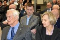 Maria Dąbrowska-Loranc (ITS) oraz prof. Wojciech Suchorzewski