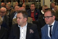 Konrad Romik, sekretarz KRBRD oraz prof. Marcin Ślęzak, dyrektor Instytutu Transportu Samochodowego