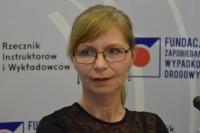 Beata Lewandowska: - Za mało prawa o ruchu drogowym w programach szkolenia instruktorów.