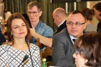 Wśród uczestników pracownicy resortów, tu Ministerstwa Rozwoju