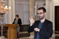 W konferencji uczestniczyli i pracowali tłumacze języka migowego