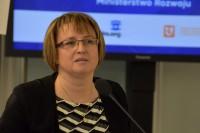 Maria Szymańska, dyrektor Departamentu Spraw Europejskich Ministerstwa Rozwoju