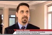 Sławomir Kotylak, dyrektor Departamentu Infrastruktury i Komunikacji UM w Zielonej Górze