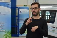 Spotkanie z udziałem tłumaczy języka migowego