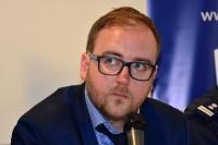Konrad Romik, sekretarz Krajowej Rady BRD, współorganizator Konferencji