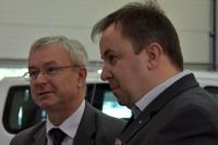 Tomasz Matuszewski, rzecznik Instruktorów i Wykładowców oraz prof. Marcin Ślęzak, dyrektor ITS