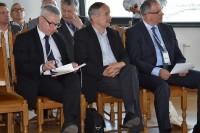 Tomasz Matuszewski, Rzecznik, Romuald Chałas, prezes AP, Bogdan Oleksiak, dyrektor w MIB