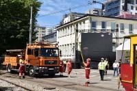 Procedura w sytuacji wypadku drogowego tramwaju