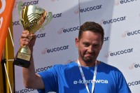 III miejsce – Tomasz Pośledni (Wrocław). Tak zadowolony
