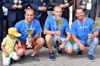 Zwycięzcy Konkursu: Jarosław Kliś (II), Sebastian Wróblewski (I) oraz Tomasz Pośledni (III)