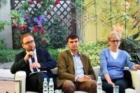 Paneliści: Konrad Romik, Bartłomiej Morzycki oraz Beata Stasiak-Cieślak