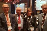 Rene Claesen (CIECA); Andrzej Grzegorczyk (Fundacja); Augusta Sica (CIECA); Witold Wiśniewsk (PKE)