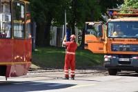 Pogotowie sieciowe do obsługi trakcji tramwajowej