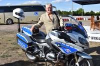 Pokaz nowych motocykli stołecznej Policji