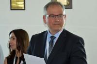 Bogdan Oleksiak, w imieniu ministra Andrzeja Adamczyka dokonał dekoracji