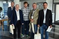 Dawid Kopacz, Marek Górny, Michał Trzaska, Ryszard Mazurek oraz Kamil Pijanowski - z Krakowa