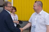 Dariusz Chyćko, prezes Krajowego Stowarzyszenia Egzaminatorów oraz Witold Wiśniewski