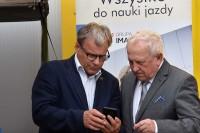 Witold Wiśniewski, prezes wydawnictwa Grupa IMAGE oraz Janusz Ujma prezes honorowy PFSSK