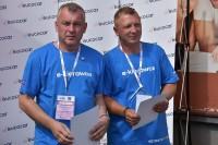 Zdobywcy II. i III. miejsca w kategorii K-1, TEST WIEDZY. Od lewej: Robert Stanisławski