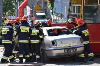 Pokaz profesjonalnej akcji ratowniczej z udziałem specjalistycznych służb