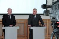 Jerzy Szmit oraz Krzysztof Kondraciuk, Generalny Dyrektor Dróg Krajowych i Autostrad