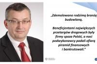Konferencja prasowa w Ministerstwie Infrastruktury i Budownictwa, 8.6.2017. Prezentacja