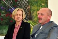 Paneliści: Maria Dąbrowska-Loranc oraz Wojciech Pasieczny