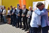 Puchar otrzymała prezes Fundacji Zapobieganie Wypadkom Drogowym Bożenna Chlabicz