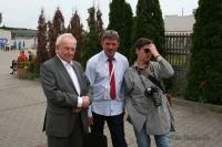 Janusz Ujma, Krzysztof Bandos oraz Jolanta Michasiewicz (red. nacz. tyg. PRAWO DROGOWE@NEWS)