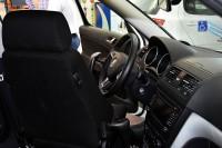 Wnętrze pojazdu dla niepełnosprawnych (fot. Jolanta Michasiewicz)