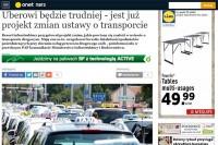 """Onet.pl - """"Umberowi będzie trudniej - jest już projekt zmian ustawy o transporcie"""""""