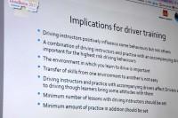 Dyskusja poświęcona wnioskom płynącym z Kongresu CIECA - Międzynarodowej Komisji ds. Szkolenia i Egzaminowania na Prawo Jazdy