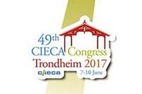 Logo 49. Kongresu CIECA. Trondheim 2017 (7-10.6.2017)