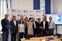 Uczestnicy dyskusji dn. 4.7.2017. Organizator - Fundacja Zapobieganie Wypadkom Drogowym