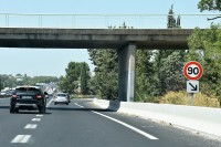 Przygotowujemy się do zjazdu z autostrady, dopuszczalna prędkość jeszcze inna