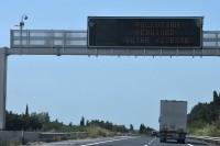 Operator autostrady przypomina: ZMNIEJSZ PRĘDKOŚĆ